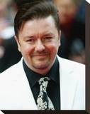 Ricky Gervais Stretched Canvas Print