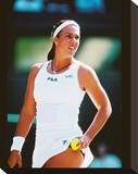 Jennifer Capriati Stretched Canvas Print