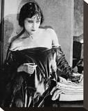 Gloria Swanson Stretched Canvas Print