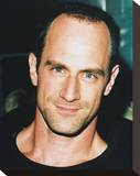Christopher Meloni Stretched Canvas Print