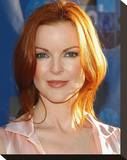 Marcia Cross Stretched Canvas Print