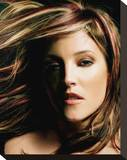 Lisa Marie Presley Stretched Canvas Print