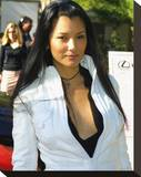 Kelly Hu Stretched Canvas Print