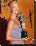 Charlize Theron Stretched Canvas Print