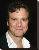 Colin Firth Stretched Canvas Print