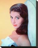 Pier Angeli Stretched Canvas Print