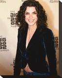 Julianna Margulies Stretched Canvas Print
