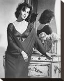 Claire Bloom Stretched Canvas Print