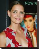 Katie Holmes Stretched Canvas Print
