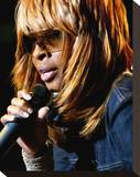 Mary J Blige Stretched Canvas Print