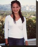 Kristin Kreuk Stretched Canvas Print