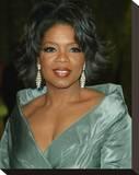 Oprah Winfrey Stretched Canvas Print