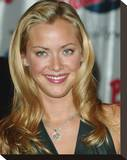 Kristanna Loken Stretched Canvas Print