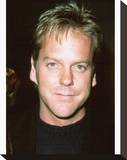 Kiefer Sutherland Stretched Canvas Print