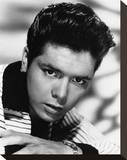 Cliff Richard Stretched Canvas Print