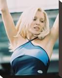 Danni Minogue Stretched Canvas Print
