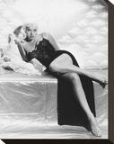 Diana Dors Stretched Canvas Print