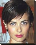 Mia Kirshner Stretched Canvas Print
