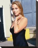 Elizabeth Berkley Stretched Canvas Print