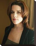 Neve Campbell Stretched Canvas Print