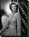 Myrna Loy Stretched Canvas Print