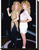 Audrey Landers Stretched Canvas Print