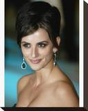Penelope Cruz Stretched Canvas Print
