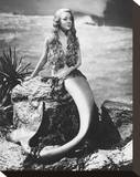 Glynis Johns Stretched Canvas Print
