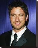 Gerard Butler Stretched Canvas Print