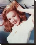 Piper Laurie Stretched Canvas Print