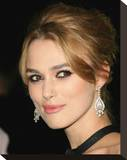 Keira Knightley Stretched Canvas Print