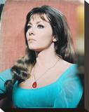 Ingrid Pitt Stretched Canvas Print
