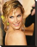 Molly Sims Stretched Canvas Print