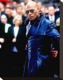 Laurence Fishburne Stretched Canvas Print