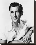 Stewart Granger Stretched Canvas Print