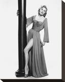 Rhonda Fleming Stretched Canvas Print