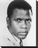 Sidney Poitier Stretched Canvas Print