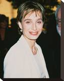 Kristin Scott-Thomas Stretched Canvas Print