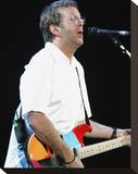 Eric Clapton Stretched Canvas Print