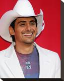 Brad Paisley Stretched Canvas Print