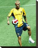 David Beckham Stretched Canvas Print