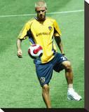 David Beckham Stretched Canvas Print