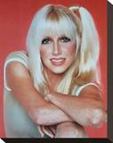 Suzanne Somers Stretched Canvas Print