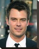 Josh Duhamel Stretched Canvas Print