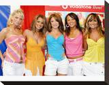 Girls Aloud Stretched Canvas Print