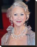 Helen Mirren Stretched Canvas Print