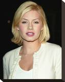 Elisha Cuthbert Stretched Canvas Print