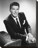 Ronald Reagan Stretched Canvas Print