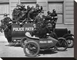 Keystone Cops Stretched Canvas Print