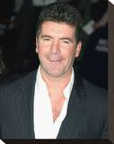 Simon Cowell Stretched Canvas Print